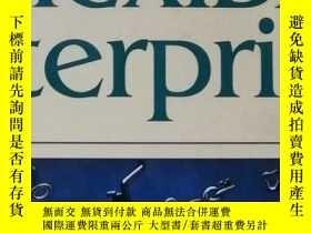 二手書博民逛書店The罕見flexible enterprise (活躍的企業)