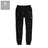 【Roush】 女生立體雙口袋縮口褲 -【2025520】