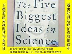 二手書博民逛書店the罕見five biggest ideas in scien
