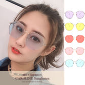 《Caroline》★今年度最新網紅款潮流行時尚百搭抗UV太陽眼鏡 71356標檢局D74321