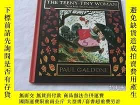 二手書博民逛書店The罕見Teeny-Tiny WomanY8204 Paul Galdone Clarion Books