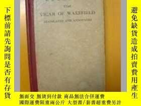二手書博民逛書店維克斐牧師傳譯註:THE罕見VICAR OF WAKEFIELD
