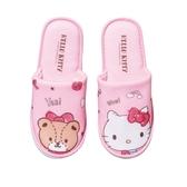 Hello Kitty 室內拖鞋-M