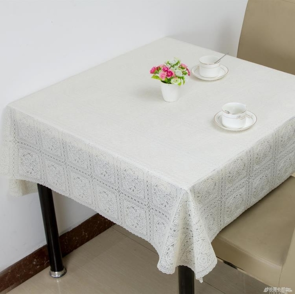 正方形桌布八仙桌台布田園防水免洗防塵餐桌布方桌麻將蓋布 格蘭小舖 全館5折起