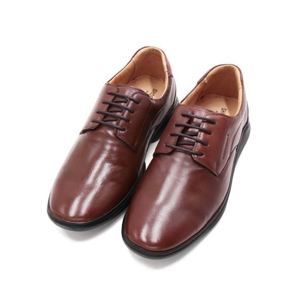 【南紡購物中心】SAPATOTERAPIA巴西低調logo圓頭紳士鞋男鞋-深咖(另有黑)