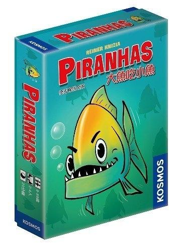 『高雄龐奇桌遊』 大魚吃小魚 PIRANHAS 繁體中文版 正版桌上遊戲專賣店
