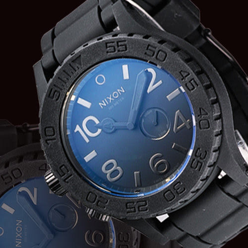 NIXON 黑夜風暴美式腕錶 NXA236000