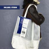 NOLABEL原創網格包男女大容量學生包日繫簡約電腦背包防水旅行包 新年鉅惠