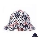 漁夫帽-撲克牌登山防曬生日情人節禮物男女遮陽帽2色73db14【時尚巴黎】