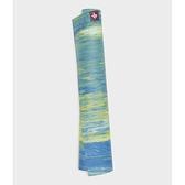 【南紡購物中心】【Manduka】eKo SuperLite Travel Mat旅行瑜珈墊1.5mm - Digi Lime Marbled