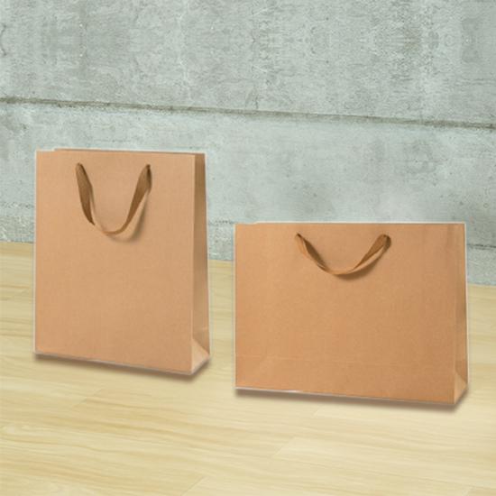 (12)加厚牛皮紙袋 購物袋 紙袋 無印字 手提袋 食品袋 禮物袋 外帶 牛皮提袋【T019】生活家精品