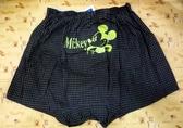【震撼精品百貨】Micky Mouse_米奇/米妮 ~DISNEY 平口褲-格子黑