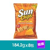 美國Sun Chips多榖類脆片-秋收乾酪口味(184.2gx8包)-箱購
