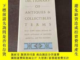 二手書博民逛書店Tuttle罕見Dictionary of Antiques & Collectibles Terms(英語原版)
