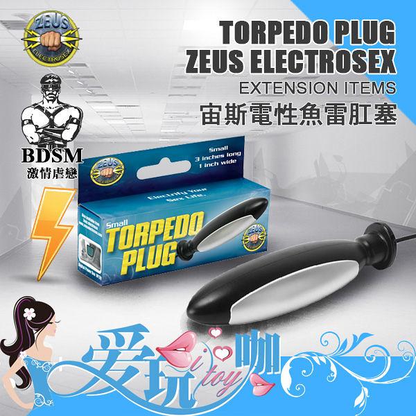 美國 ZEUS ELETROSEX 宙斯電性魚雷肛塞 Electro Torpedo Plug 電擊 低頻電流 Powerbox 專屬配件