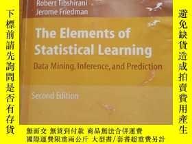 二手書博民逛書店美国原版罕見The Elements of Statistical Learning: Data Mining,