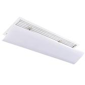 空調擋風板罩遮調吸頂擋板風管機冷氣出下口中央空調導風板防直吹WY 免運快速出貨