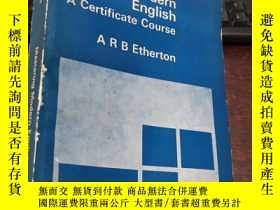 二手書博民逛書店Mastering罕見Modern English A Certificate CourseY5834 A R
