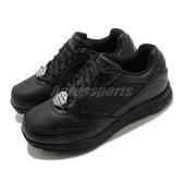 Skechers 休閒鞋 Nampa-Wyola Wide 寬楦 黑 白 女鞋 工作鞋 抗滑 防觸電【ACS】 77235WBLK