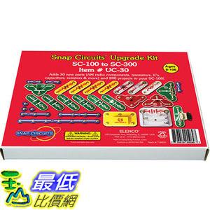 [美國直購] Snap Circuits UC-30 電子益智品 升級套件 Upgrade Kit SC-100 to SC-300