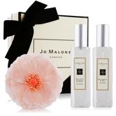 Jo Malone 春日香水禮盒組杏桃花X黑莓子+花飾含禮盒緞帶