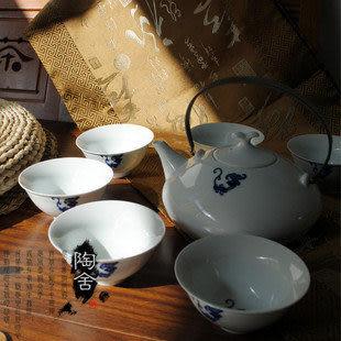 景德鎮 陶瓷 茶具七件套  龍