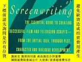 二手書博民逛書店The罕見Elements Of ScreenwritingY364682 Irwin R. Blacker