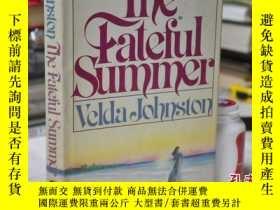 二手書博民逛書店1981年,英文原版,精裝護封毛邊,the罕見fateful s