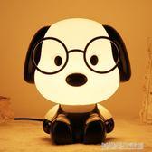 超大25cm兒童卡通台燈 暖光LED小夜燈臥室床頭燈新生兒喂奶燈
