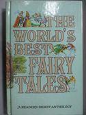 【書寶二手書T7/原文小說_LPI】The World s Best Fairy Tales