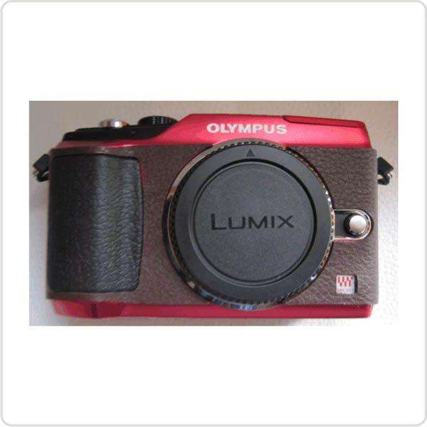 (BEAGLE) 真皮相機專用貼皮/相機蒙皮 OLYMPUS E-PL2 現貨供應 - 3色(可訂製其他顏色)