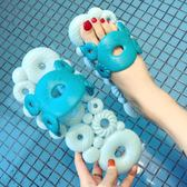 浴室拖鞋  厚底拖鞋浴室軟底室內防滑洗澡可愛個性鏤空漏水家用涼拖家居