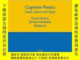 二手書博民逛書店Cognitive罕見Poetics: Goals, Gains