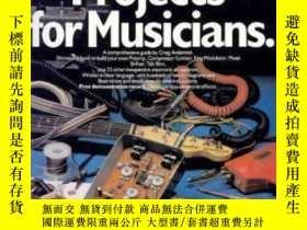 二手書博民逛書店Electronic罕見Projects For Musicians-音樂家電子項目Y436638 Craig