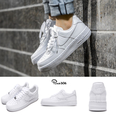 Nike 休閒鞋 Wmns Air Force 1 07 運動 復古 白 全白 女鞋 男鞋【ACS】315115-112