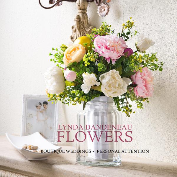 模擬花假花 套裝 花藝 客廳餐桌 裝飾花 花瓶花束 -bri02010