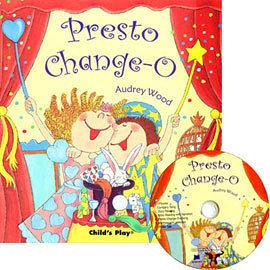 【麥克書店】PRESTO CHANGE-O /英文繪本+CD《自我認同》《歌唱》