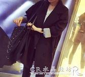 春秋季韓版時尚氣質百搭雙排扣中長款長袖休閒小西裝外套女潮 『CR水晶鞋坊』