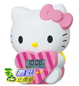 [東京直購] SEIKO CLOCK JF375A 時鐘 鬧鐘 Hello Kitty Alarm Clock