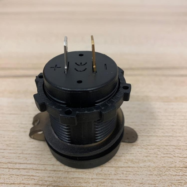 汽車12V-24V改裝電壓表電流表檢測儀(4公分/777-3023)