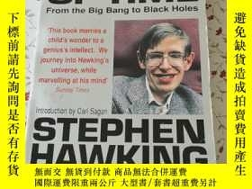 二手書博民逛書店A罕見Brief History of Time From the Big Bang to Black Holes