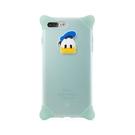 Bone iPhone 8 / 7 Plus (5.5) 泡泡保護套 透明藍-唐老鴨 手機殼