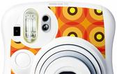 FUJIFILM instax mini 25 拍立得專用 機身貼紙 裝飾貼紙 摩登橘