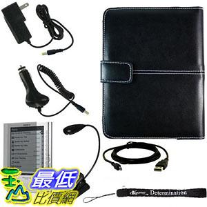 [美國直購 ShopUSA] 電子書用保護套 配件組 Ultimate Sony Reader eBook Touch Edition PRS-600 Bundle Pack