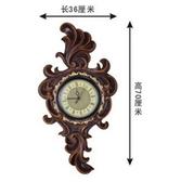 【協貿國際】巴洛克歐式掛鐘時鐘靜音客廳創意鐘