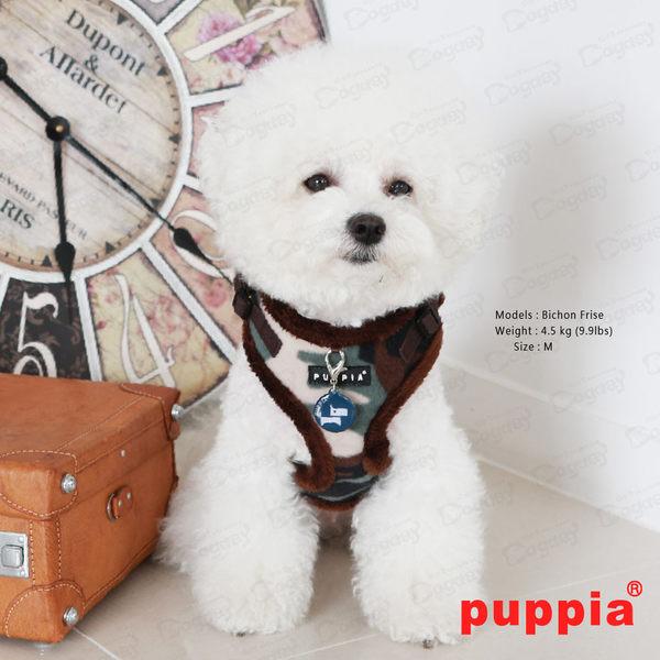 國際名品《Puppia》曠野迷彩胸背心A款 L/XL號 胸背+拉繩組合價 可卡/法鬥/米格魯