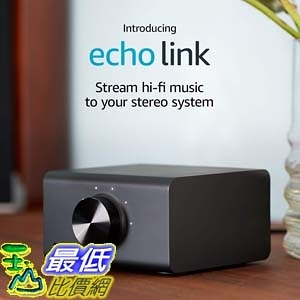 [7美國直購] Amazon Echo Link - Stream hi-fi music to your stereo system