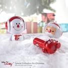 【福利品】Drive Me CRAZY Snowman 聖誕雪人造型公仔 2.1A 車充 節日限量版(裸裝)