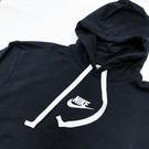 IMPACT Nike Sportswear Heritage 帽T 長袖 黑 白 抽繩 男女可穿 928438-011