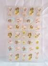 【震撼精品百貨】Sugarbunnies 蜜糖邦尼~貼紙『花&布丁&柳橙』